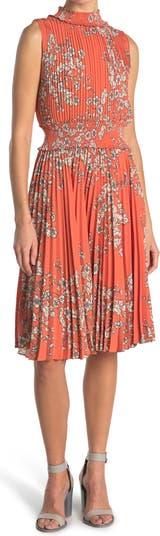 Платье миди без рукавов со сборками Nanette nanette lepore