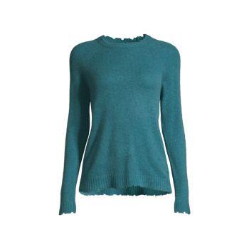 Рваный свитер из кашемира Minnie Rose
