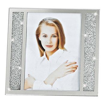 Кристаллизованная рамка для фотографий 5 x 7 дюймов из люцерны Badash Crystal