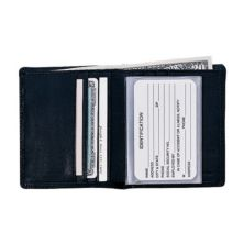 Кожаный кошелек двойного сложения из кожи наппа Royce Royce Leather