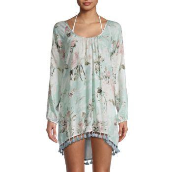 Платье-накидка с цветочным принтом Chaser