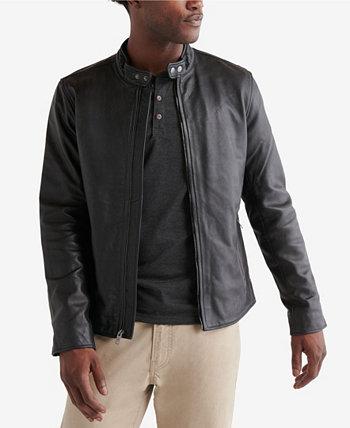 Мужская куртка Bonneville из чистой кожи Lucky Brand