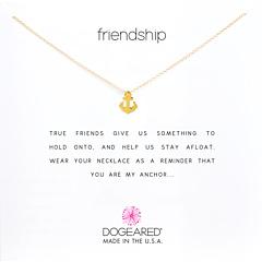 Колье для напоминания о дружбе Dogeared