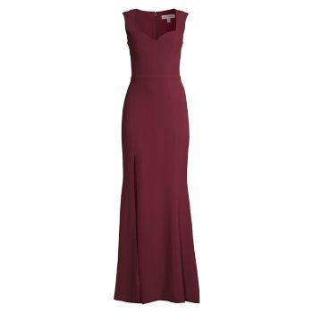 Платье Monroe с разрезом Dress the Population
