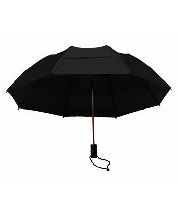 Ветрозащитный автоматический открытый складной зонт GUSTBUSTER