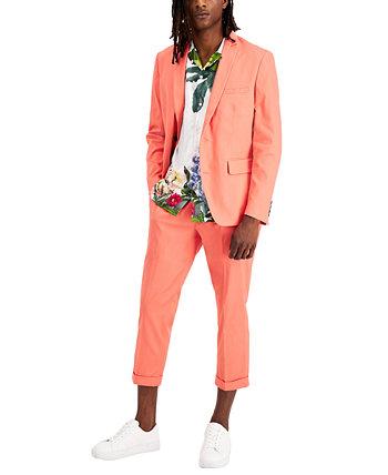 Мужской однотонный пиджак классического кроя, созданный для Macy's INC International Concepts