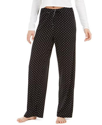 Пижамные штаны с точечным принтом HUE
