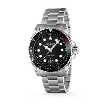 Часы Dive из нержавеющей стали с браслетом GUCCI