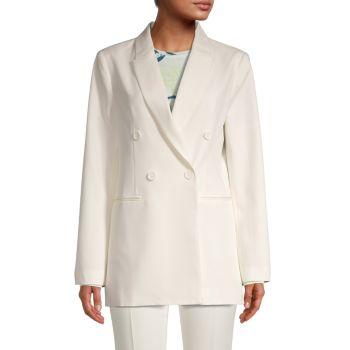 Двубортный пиджак BCBGMAXAZRIA