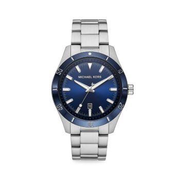 Часы Layton из нержавеющей стали с браслетом Michael Kors