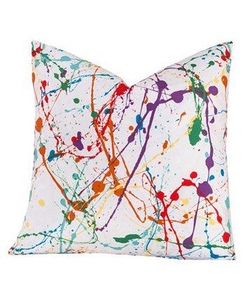 Дизайнерская декоративная подушка Splat 16 дюймов Crayola