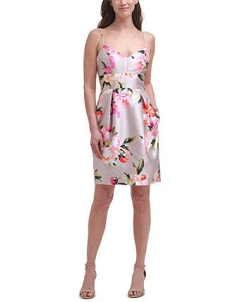 Платье с цветочным принтом Eliza J