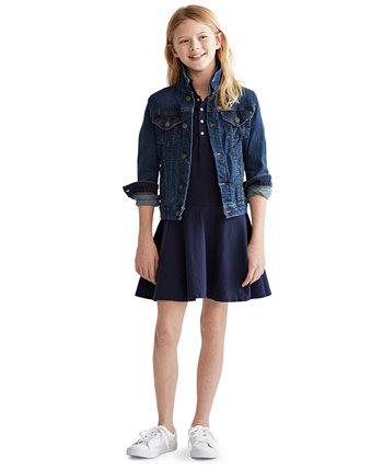 Джинсовая куртка для больших девочек Ralph Lauren