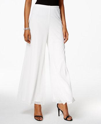 Сетчатые широкие классические брюки, стандартные и маленькие размеры MSK