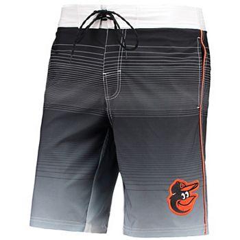 Men's G-III Sports by Carl Banks Black Baltimore Orioles Defense Swim Trunk G-III