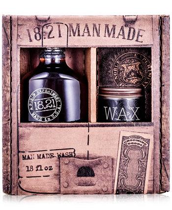2-Рс. Подарочный набор Wash & Wax 18.21 Man Made