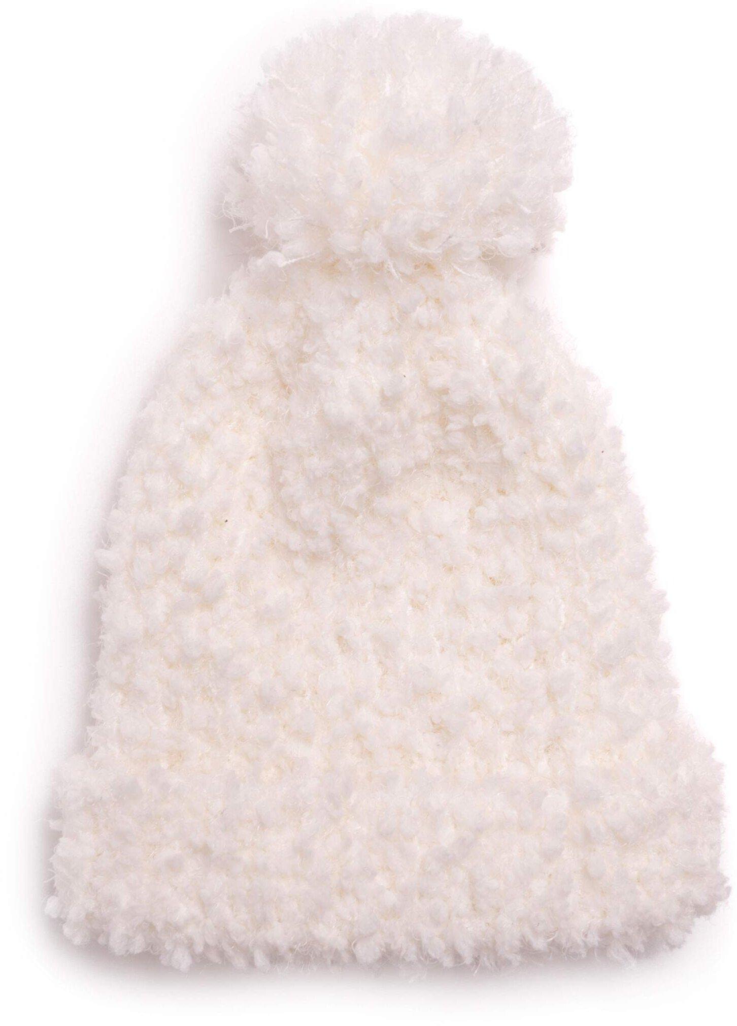 Женская кепка с манжетами из попкорна MUK LUKS