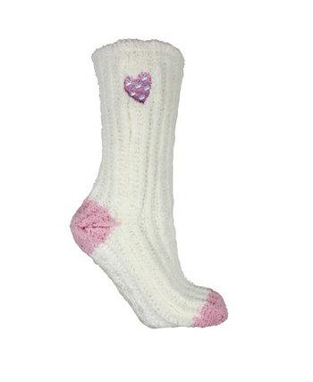 Женские нескользящие теплые, мягкие и пушистые носки-тапочки с ароматной подошвой, 2 шт. MinxNY