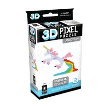 Университетские игры 3D Pixel Puzzle - Unicorn 270-Pieces University Games