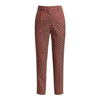 Silk Foulard Geometric Trousers Etro