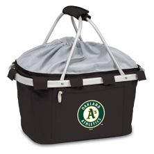 Picnic Time Oakland Athletics Insulated Picnic Basket Picnic Time