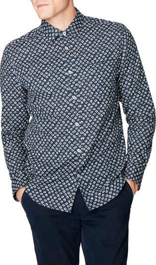 Приталенная рубашка на пуговицах On Point Good Man Brand