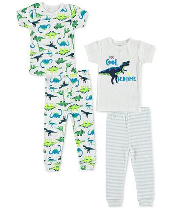 Пижамы для маленьких мальчиков, комплект из 4 шт. Cutie Pie Baby