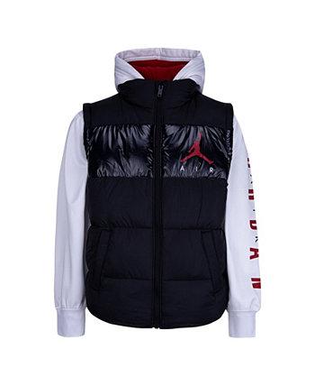 Big Boys Color Block 2Fer Jacket Jordan