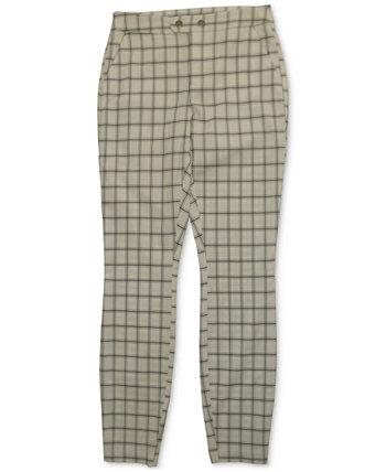 INC Plaid Skinny Pants, Created for Macy's INC International Concepts
