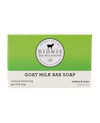 Кусковое мыло с козьим молоком, вербеной и кремом, 6 унций Dionis