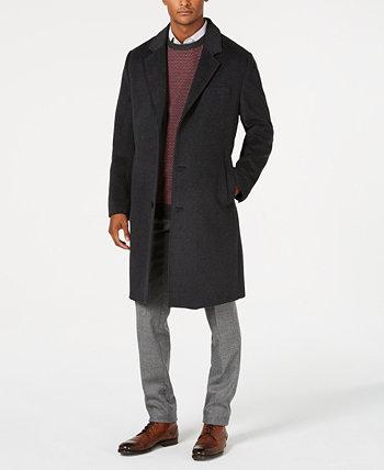 Фирменное пальто из смесовой шерсти London Fog