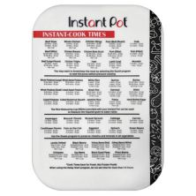 "Instant Pot Cook Times 10"" x 14"" Cutting Mat Instant Pot"