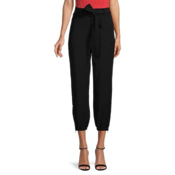Adrian Belted Cropped Pants Bailey 44