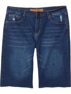 Эластичные джинсовые шорты Brixton в цвете Gleam (для больших детей) Joe's Jeans Kids