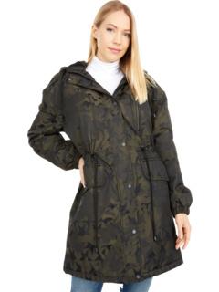 Дождь с камуфляжным принтом Star Camo на подкладке из шерпы Avec Les Filles