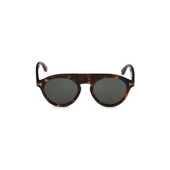 Круглые солнцезащитные очки 49 мм Tom Ford