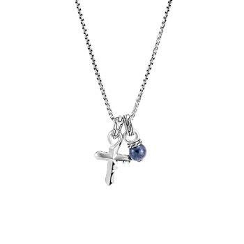 Классическая цепочка из стерлингового серебра Keris Dagger Charm Pendant Necklace JOHN HARDY