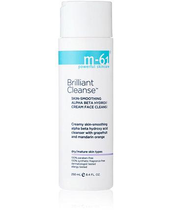 Brilliant Cleanse - Разглаживающий кожу альфа-бета-гидрокси крем для лица, 8,4 унции M-61 by Bluemercury