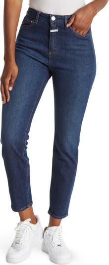 Baker High Waist Straight Leg Jeans CLOSED