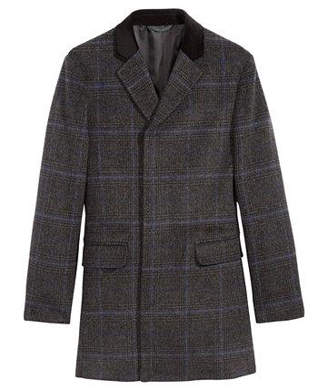 Пальто в клетку Big Boys Ralph Lauren