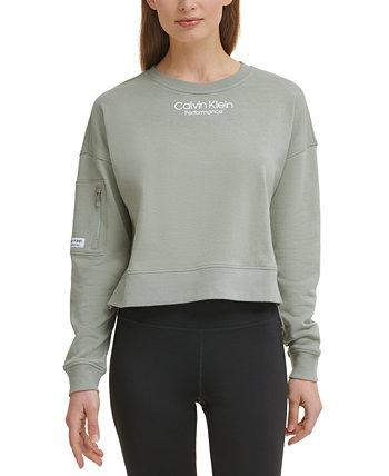 Women's High-Low Sweatshirt Calvin Klein
