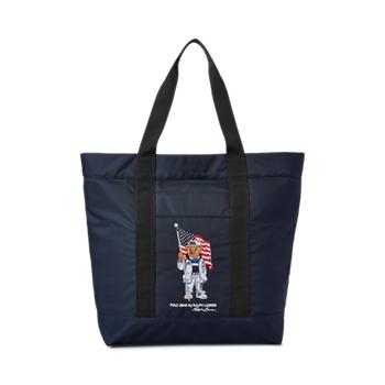Размер сумки-тоут Polo Bear от Team USA Ralph Lauren