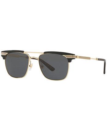 Солнцезащитные очки, GG0287S 52 GUCCI