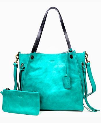 Кожаная большая сумка Daisy Old Trend