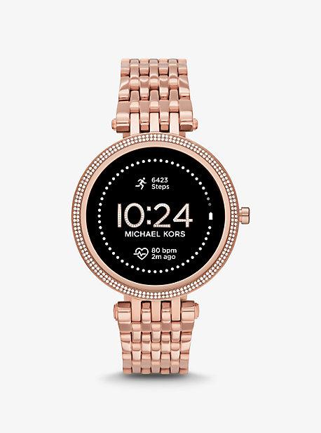 Умные часы Gen 5E Darci Pavé цвета розового золота Michael Kors