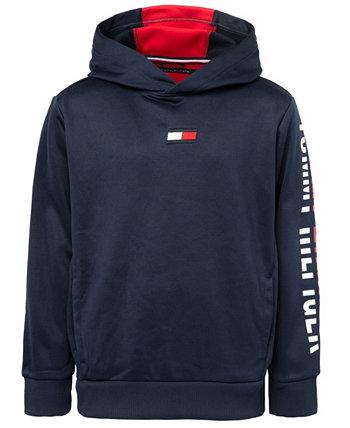 Спортивный пуловер с капюшоном для маленьких мальчиков Tommy Hilfiger