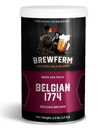 Buckriders Craft Brew Mix - бельгийский 1774 г., 3,3 фунта Brewferm