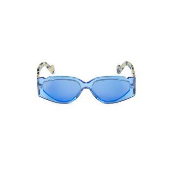 Прямоугольные солнцезащитные очки Off Record 57 мм FENTY