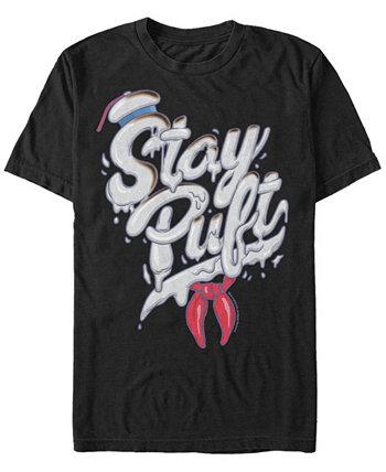 Мужская футболка Sony Marshmallow Man Stay с коротким рукавом Ghostbusters
