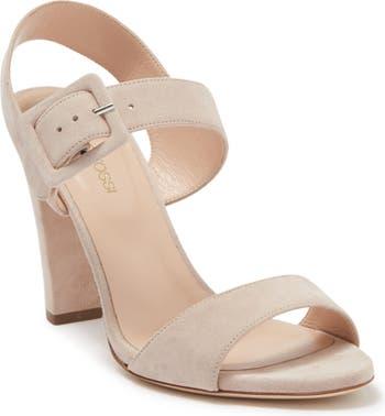 Королевские замшевые сандалии Sergio Rossi